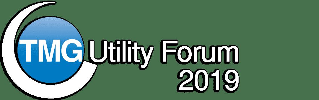 TMG Utility Forum Logo in White