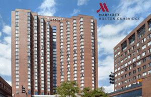 Boston Marriot Hotel in Cambrigde, MA