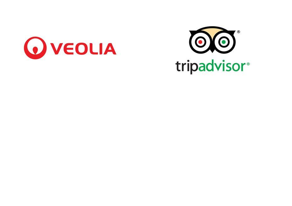 Veolia and Trip Advisor company logos